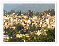 Kalimpong Hill Station View